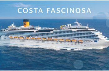 Hasta USD 300 de descuento en Costa Cruceros