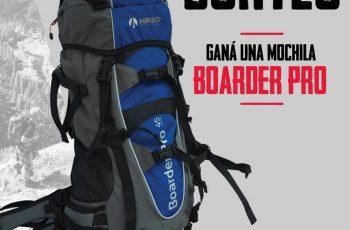 Gana una mochila Boarder Pro en Facebook