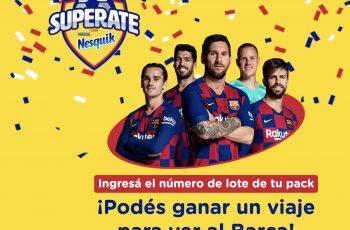 Ganá un viaje para ver al Barça con Nesquik